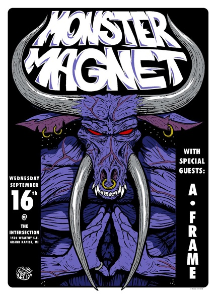 Concert Poster: Monster MagnetMonsters Magnets