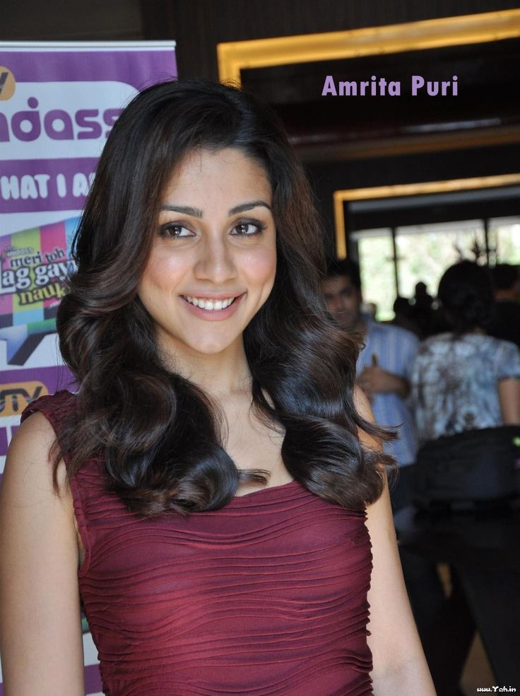 Actress of India: Amrita Puri