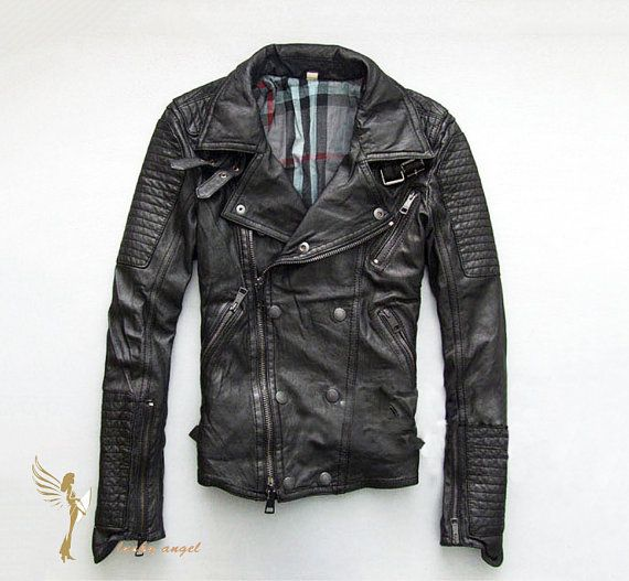 women  genuine leather jacket leather coat for winter spring autumn on Etsy, $184.16 AUD