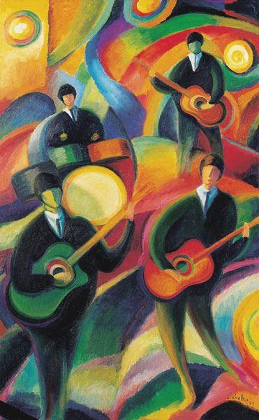 the Beatles in fun