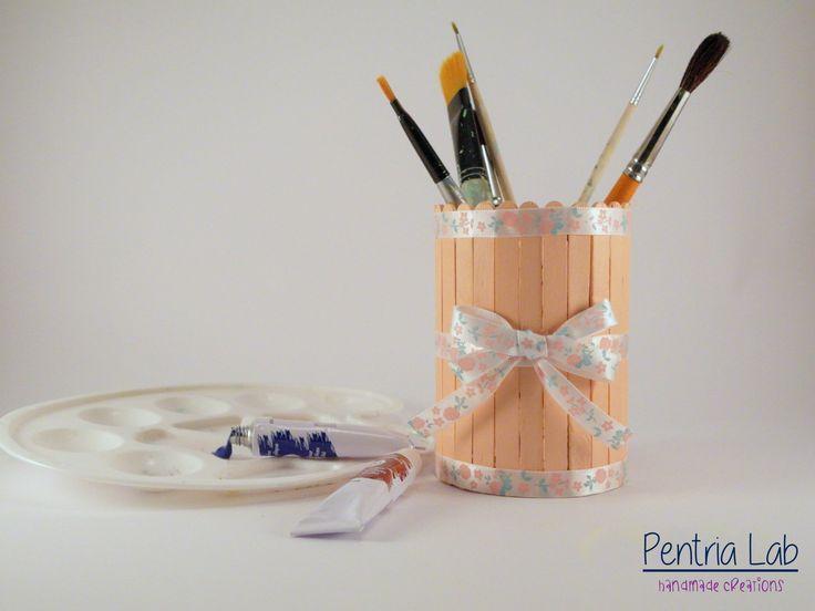 Porta penne riciclo creativo : Accessori casa di pentria-lab