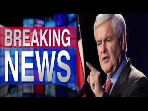 Newt Gingrich Makes Shocking Reveal, He Said 3 Simple Words That Will End Trump-Russia Investigation