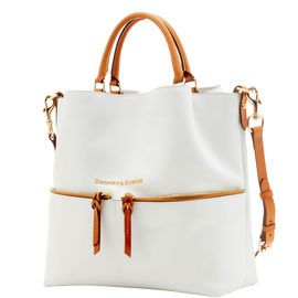 Dooney & Bourke | Must Have Fashion    White and Gray | White and Gray Handbag | White and Gray Accessory | White and Gray Accessories | White and Gray Purse | Fashion | Style