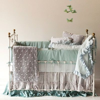 Shabby Chic Nursery Bedding