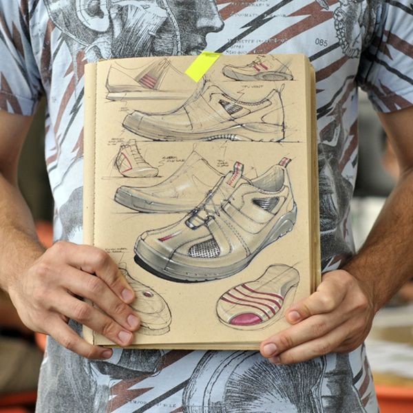 shoe sketches by Joey