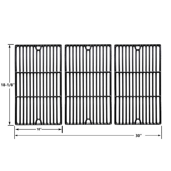 3 PACK PORCELAIN CAST IRON REPLACEMENT COOKING GRIDS FOR CUISINART, CHARBROIL 466247512, 463247209, 463247310, 463248208, 463263110, 463268107, 463224912, 463231711, 463247209 GAS GRILL MODELS Fits Compatible CUISINART Models : 85-3060-6 , 85-3061-4, 85-3086-6, 85-3087-4 , G61801 , G61802 , Gourmet Infrared Pro 900 Read More @http://www.grillpartszone.com/shopexd.asp?id=34007&sid=36670