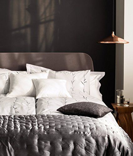 branches print duvet quilt cover set twin single 100 cotton wheat spring branches gray