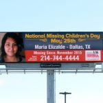 Texas Center for the Missing, The Heidi Search Center and the National Center for Missing & Exploited Children and Clear Channel Outdoor…