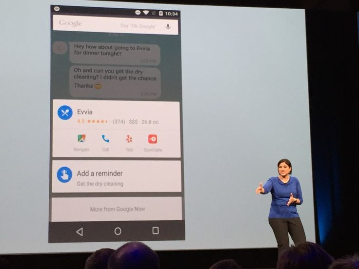 "Now On Tap,"" An Expanded Version Of #Google Now That Works In Apps & Mobile Browsers - Google Now, the company's predictive search product, is getting smarter and expanding to work in mobile browsers and apps that Google is indexing. @themangomedia"