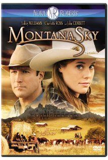 A little John Corbett love....on the Nora Roberts book to TV movie: Montana Sky
