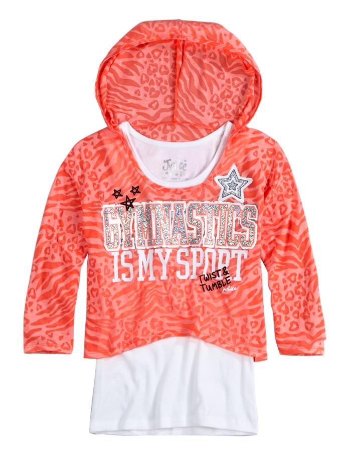 Girls Long Sleeve Top | Get Girls Long Sleeve Tees Online | Shop Justice