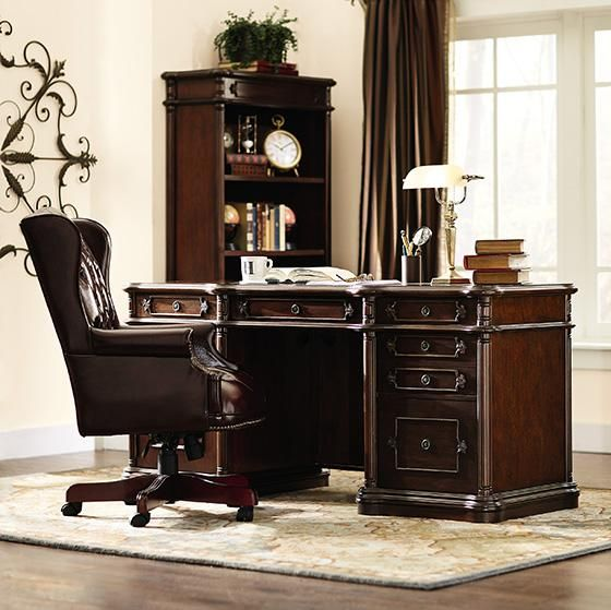 Classic. HomeDecorators.com #office #work