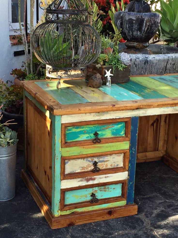 Boatwood Desk Done By Jill Of Jillu0027s Abode In San Clemente, Ca. Lots Of