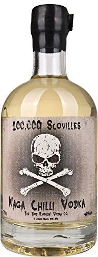 From 30.99 The Hot Enough Vodka Co. 100000 Scovilles Naga Chilli Vodka 70 Cl