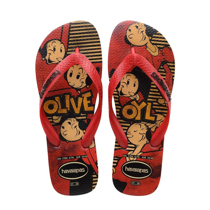 Havaianas Popeye Ruby Red Flip Flop  Price From: 24,62$CA