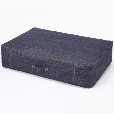 綿デニムふとん収納袋 マチあり■70×102×25cm | 無印良品ネットストア