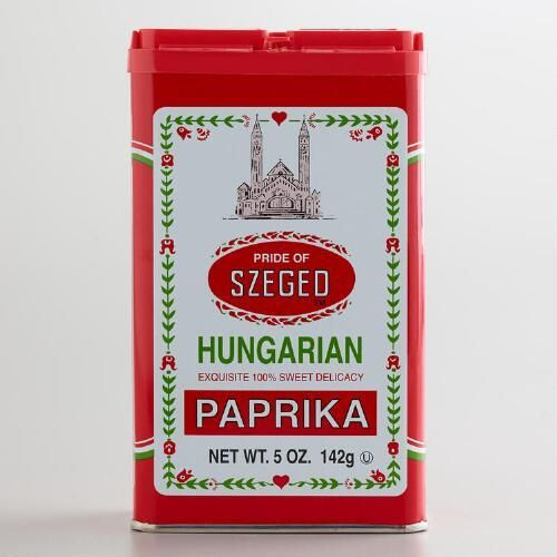 One of my favorite discoveries at WorldMarket.com: Szeged Sweet Paprika