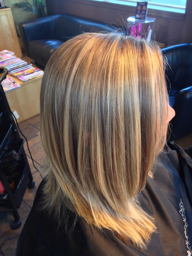 Blonde Highlights With Subtle Lowlights Rachel S