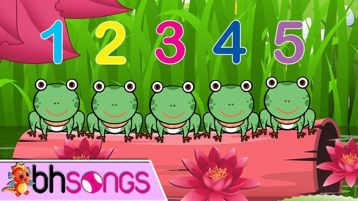 Five Little Speckled Frogs | Nursery Rhymes | Kids Songs [Lyrics 4K Musi...