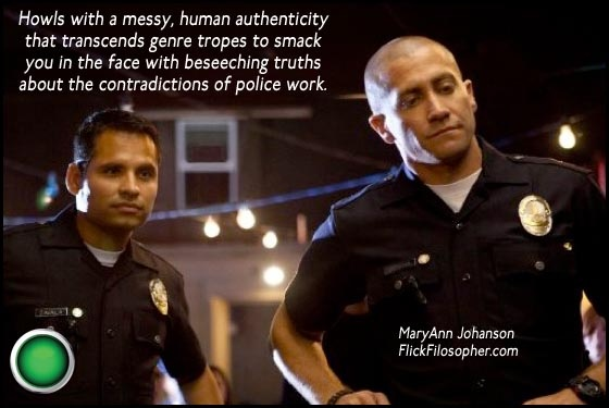 End of Watch: Opens tomorrow in the UK. (Still in a few theaters in the US and Canada.)