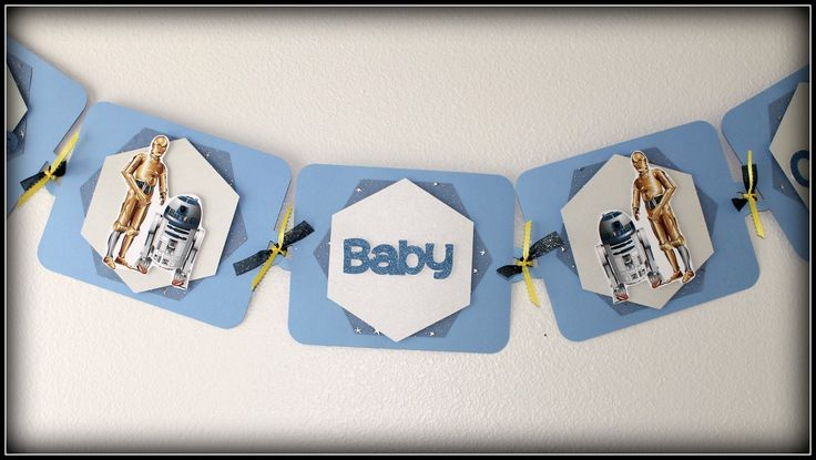 baby shower banners stars wars baby star wars babyshower theme boy