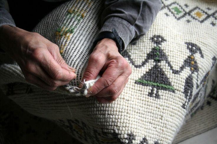 The craftsmanship of artisans in Ulassai #Ogliastra #Sardinia #italy