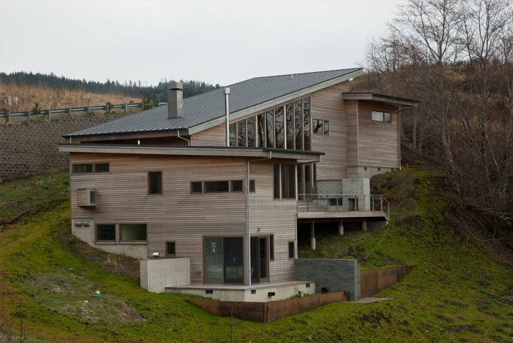 17 best images about modern architectural ideas on for Steps to building a house on raw land
