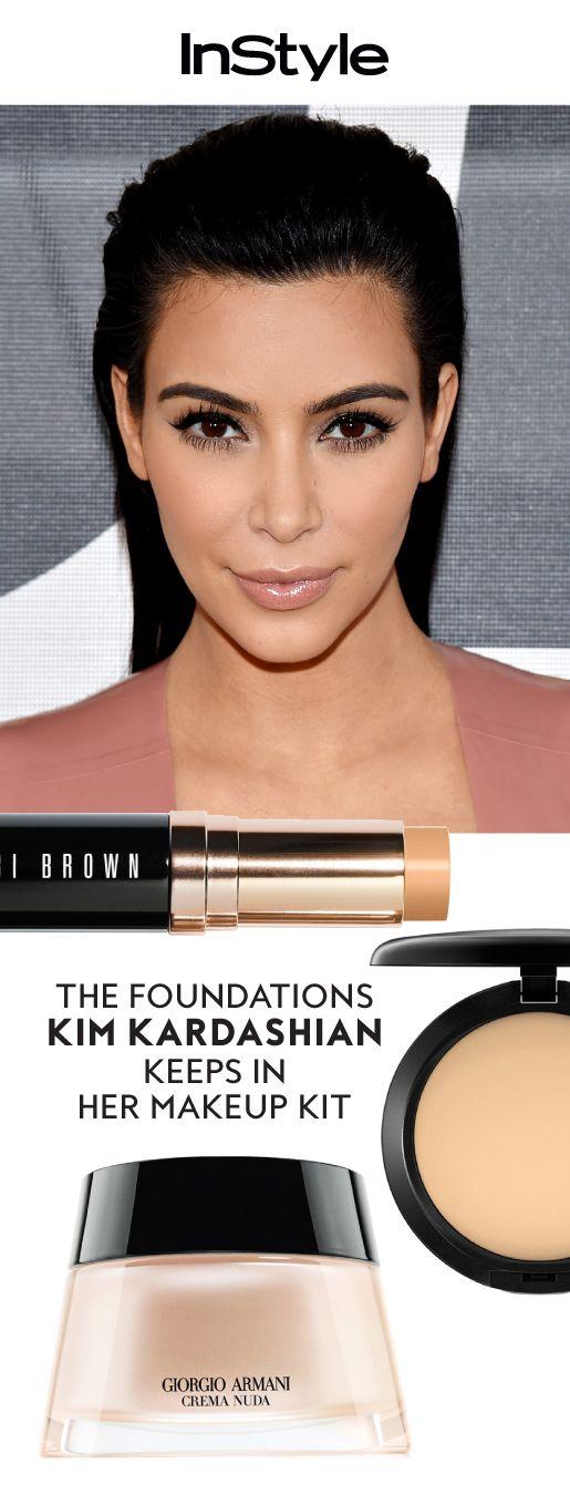Shop the exact foundations that Kim Kardashian West uses.