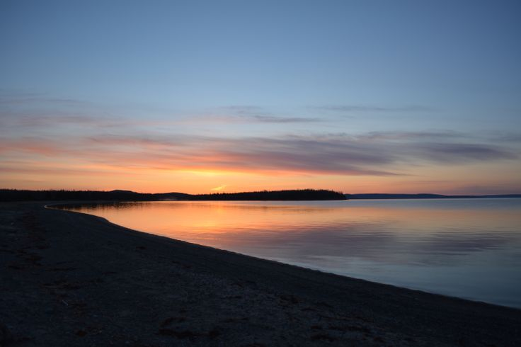 Sunrise on the Bras d'Or.