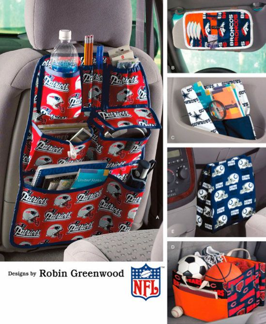 CAR ORGANIZERS Pattern Seat Visor & Trunk by patterns4you on Etsy