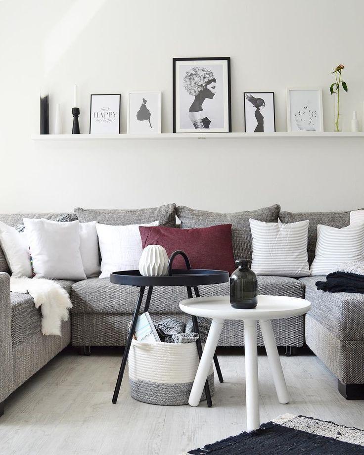 1000 best wohnzimmer images on pinterest - Bilderwand skandinavisch ...