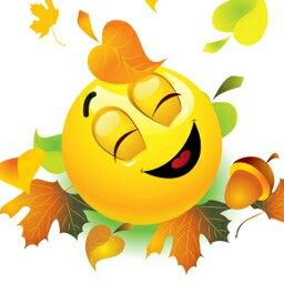 Emoticon - I so love fall! :)                                                                                                                                                     More