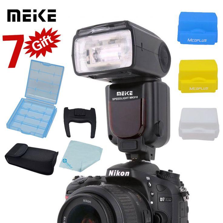 Meike MK-910 MK910 i-TTL 1/8000s HSS Sync Master & Slave Flash Speedlight  for Nikon SB-910 SB-900 D7100 D800 D750 D600 DSLR | Price: US $91.78 | http://www.bestali.com/goto/32242150533/10