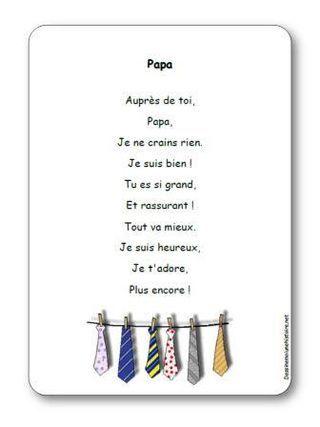 Comptine Papa