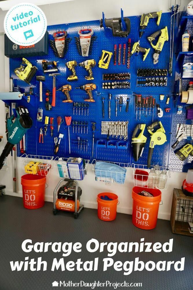 Learn how to declutter your garage with our selection of top DIY storage solutions. Improve your home with the best DIY garage storage tips and tricks.