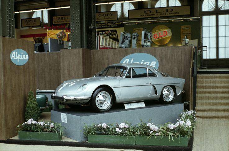 Alpine A110, aka Berlinette.Paris, 1961. Photo: Jan Basshus-Jessen / Owner: DEXTRA Photo