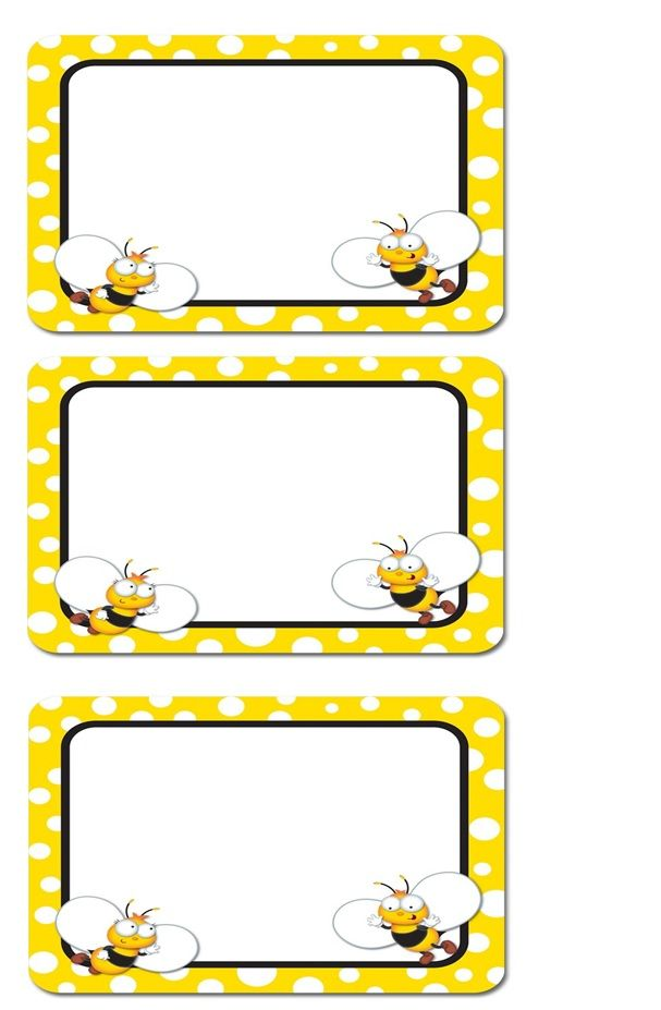 Abejas on Free Clipart Preschool Borders