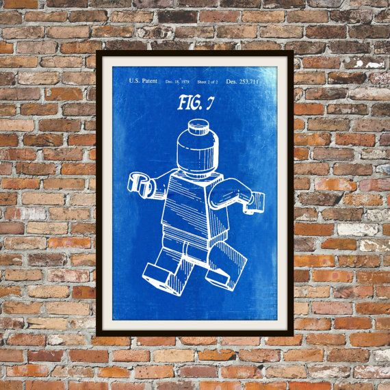 The 25 best blueprint art ideas on pinterest blueprint font us lego patent blueprint art of a lego figurine man person no8 technical drawings malvernweather Gallery