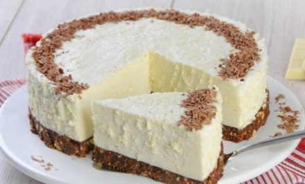 Výborná nepečená torta z bielej čokolády | Báječné recepty