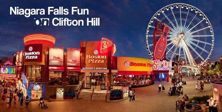 Clifton Hill, Niagara Falls Canada