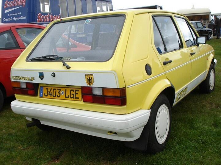 1984 VW Citi Golf