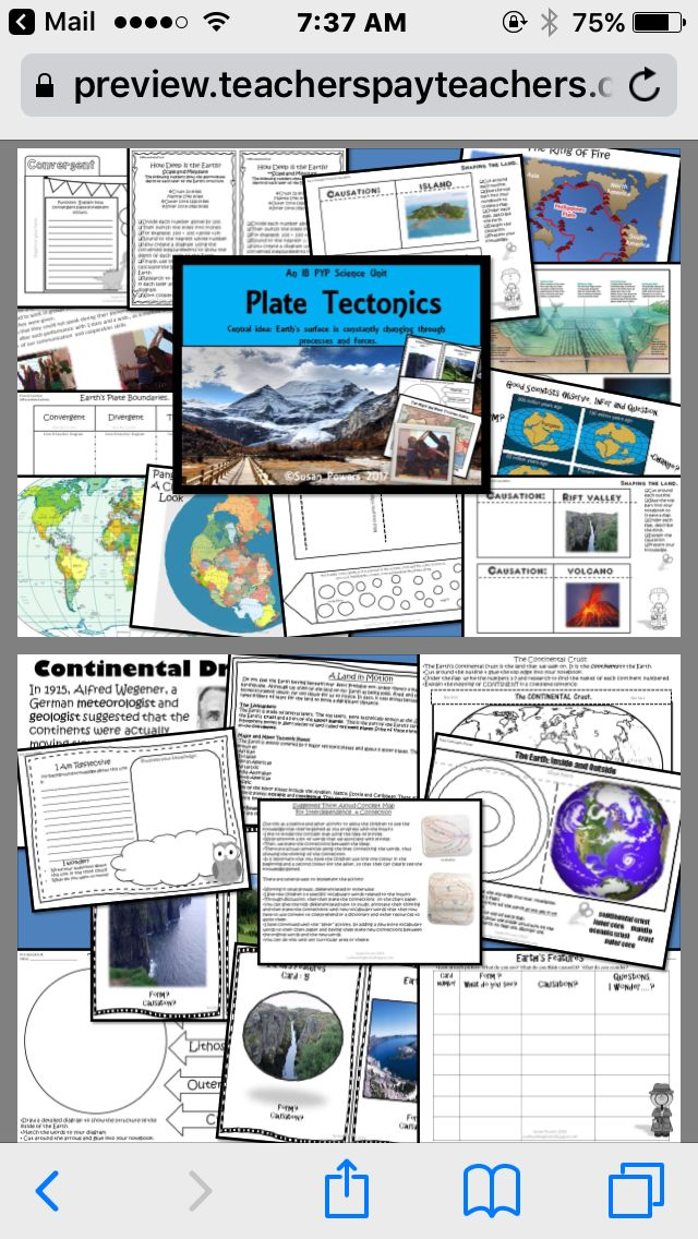 An Interactive Science Inquiry into Plate Tectonics with interactive science galore!