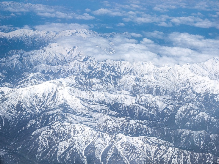 Japan Alps, FromTheAir - propluto.kuvat.fi by Heikki Rantala