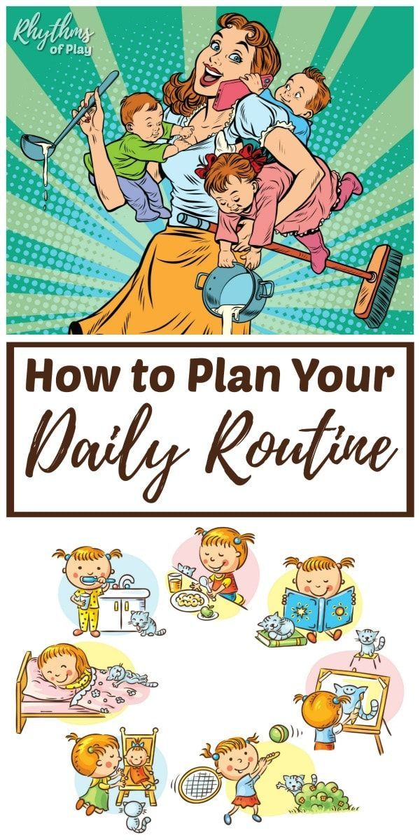 How to Plan Your Daily Routine and Weekly Rhythm