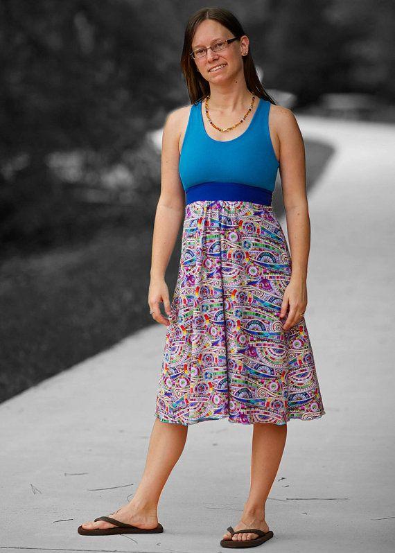 Brazi Ladies' Bra and Dress PDF Sewing Pattern by StitchUponaTime