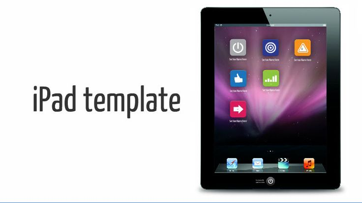 Here's a suh-weet template from Fathom Creative for your ipad #prezi
