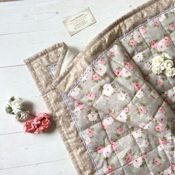 Купить Лоскутное одеяло для новорожденного. Конверт на выписку - разноцветный, цветочный, лоскутное одеяло, лоскутное покрывало