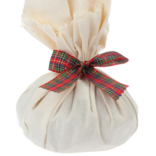 This is a moist, delicious Christmas Pudding, all ready to be given.