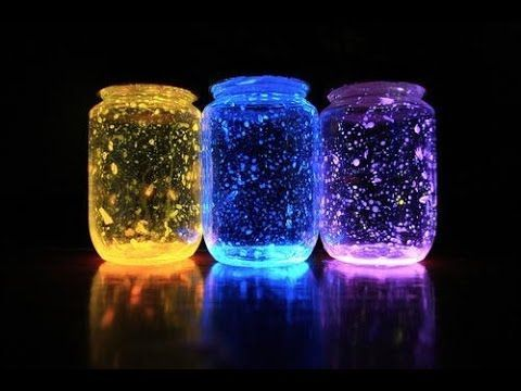 Frascos de luz de neón muy bonitos (para cualquier tipo de eventos) - YouTube