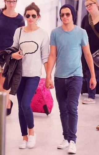 Louis Tomlimson, and gf Eleanor